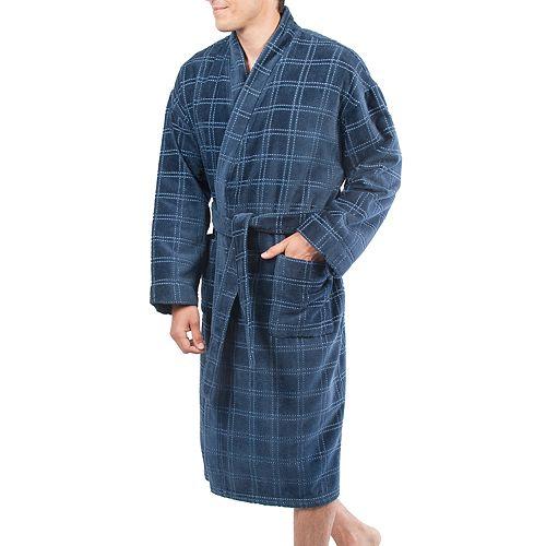 Big & Tall Residence Velour Kimono Robe