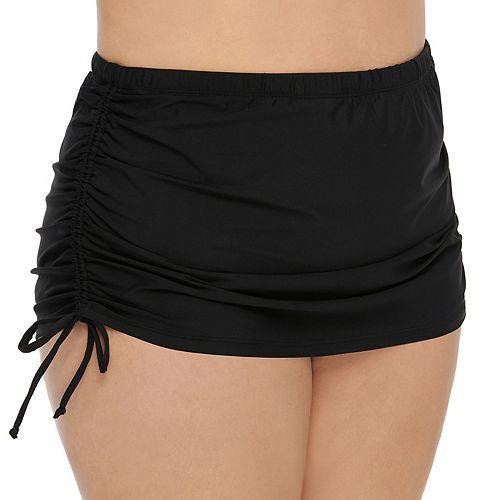 Plus Size Apt. 9® Drawstring Side Skirtini Bottoms