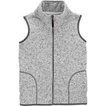 Boys 4-12 Carter's Sweater Knit Fleece Zip Vest