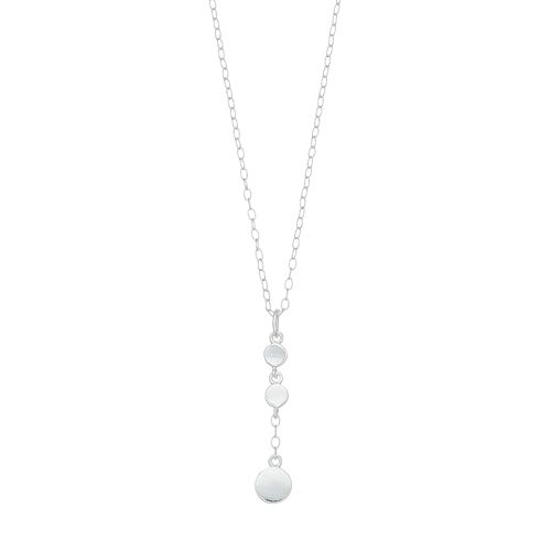 Always Radiant Sterling Silver Y necklace