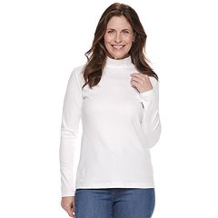 Women's Croft & Barrow® Essential Mockneck Top