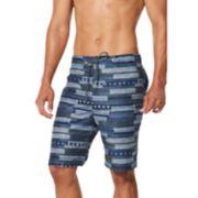 Men's Speedo Stanford Printed Swim Short