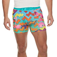 Men's Crazy Boxer '90s Novelty Boxer Briefs