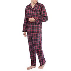 Big & Tall Residence Flannel Pajama Set