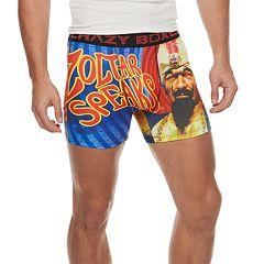 Men's Crazy Boxer Zoltar Novelty Boxer Briefs