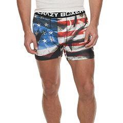 Men's Crazy Boxer Novelty Briefs