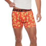 Men's Crazy Boxer Food Novelty Boxer Briefs