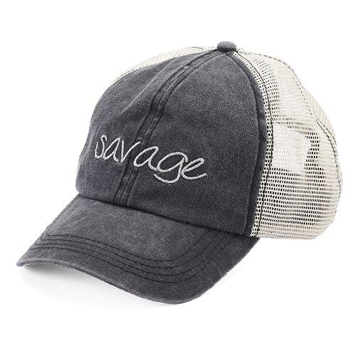 """Women's SO® """"Savage"""" Mesh Back Cap"""
