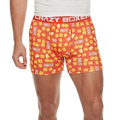 Men's Crazy Boxer Novelty Briefs