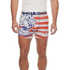 Men's Crazy Boxer Popeye Novelty Boxer Briefs