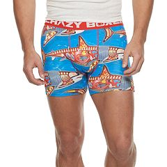 Men's Crazy Boxer Shark Week Novelty Briefs