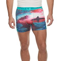 Men's Crazy Boxer Shark Week Novelty Boxer Briefs