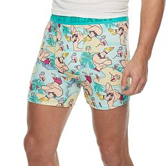 Men's Crazy Boxer Johnny Bravo Novelty Briefs