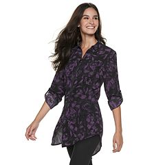 Women's Rock & Republic® Zip-Front Tunic