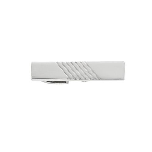 Men's Apt. 9® Silver Tie Bar