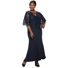 24baf57d7 Plus Size Le Bos Embroidered Sequin Dress