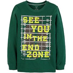 Boys 4-12 Carter's 'See You In The End Zone' Football Graphic Tee