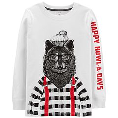 Boys 4-12 Carter's Wolf 'Happy Howl-A-Days' Graphic Tee