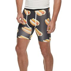 Men's Wear Your Life Hot Dog Novelty Boxers