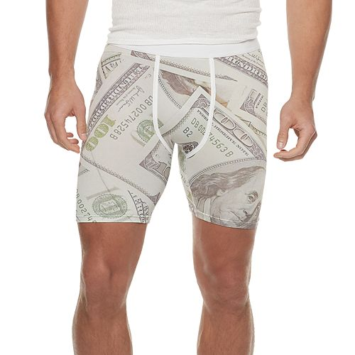 Men's Wear Your Life Money Novelty Boxers