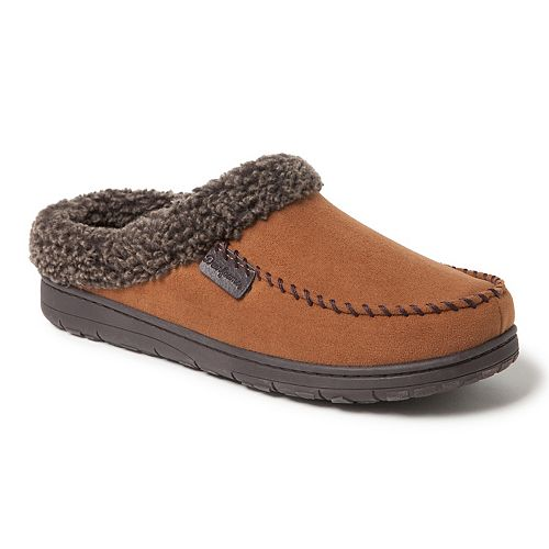 Men's Dearfoams Whipstitch Clog Slippers