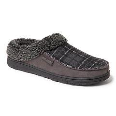 Men's Dearfoams Whipstitch Clog Slippers