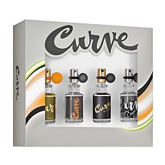 Curve 4-pc. Men's Cologne Gift Set - Eau de Cologne