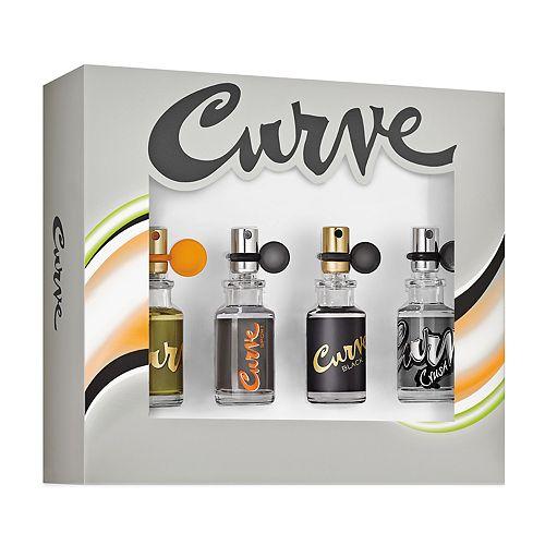 Curve 4-pc. Men's Cologne Gift Set - Eau de Cologne ($84 Value)