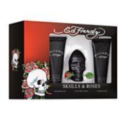 Ed Hardy Skulls & Roses Men's Cologne 3-pc. Gift Set