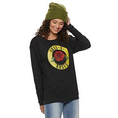 Juniors' Guns N' Roses Pullover