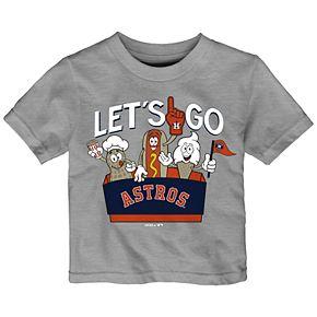Baby Boy Houston Astros Snack Box Graphic Tee