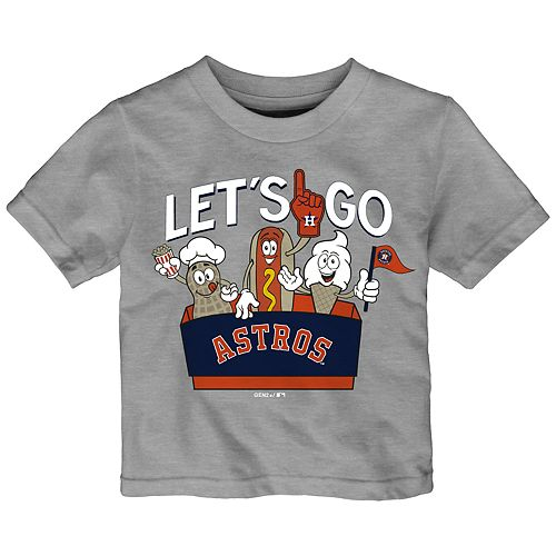 Baby Boy Houston Astros Snack Box Graphic Tee