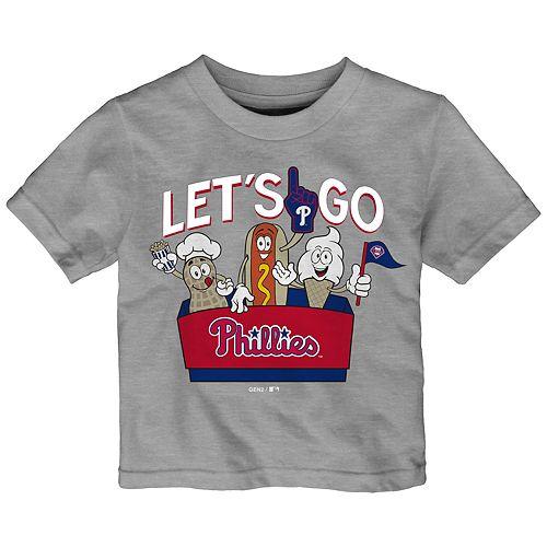 Baby Boy Philadelphia Phillies Snack Box Graphic Tee