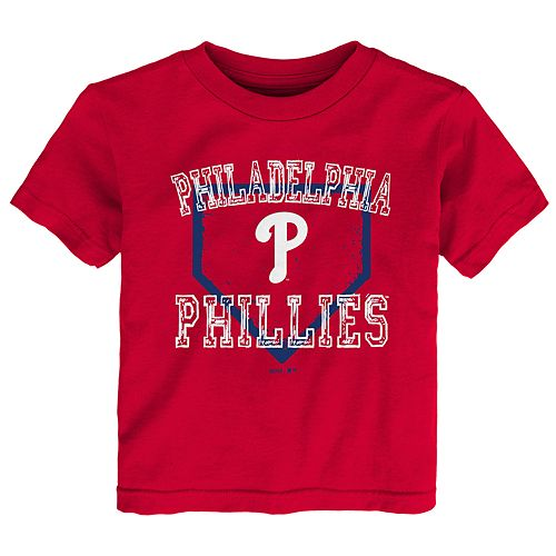 Toddler Boy Philadelphia Phillies Home Plate Tee