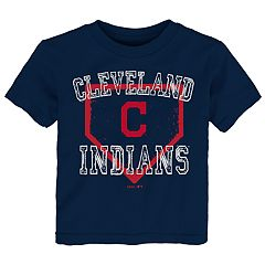 Toddler Boy Cleveland Indians Home Plate Tee
