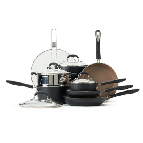 Cuisinart Matte Black Collection 12-pc. Cookware Set