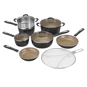 Cuisinart® Matte Black Collection 12-pc. Cookware Set