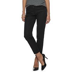 Women's Apt. 9® Torie Straight-Leg Ankle Pants