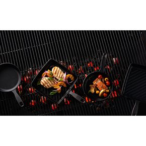Food Network? Pre-Seasoned Cast-Iron Starter Set