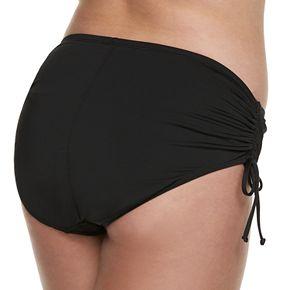 Plus Size Apt. 9® Midrise Side-Tie Bikini Bottoms