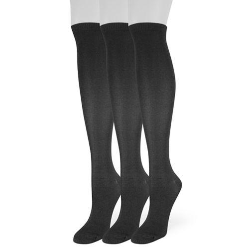 Women's SONOMA Goods for Life™ 3-Pack Knee-High Socks