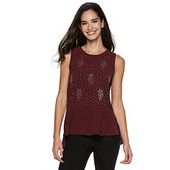 Women's Juicy Couture Embellished High-Low Tank