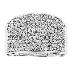 Jennifer Lopez Simulated Stone Stretch Ring