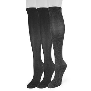 Women's SONOMA Goods for Life? 3-Pack Soft & Comfortable Knee-High Socks
