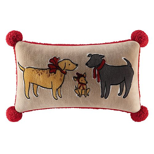 Cuddl Duds Oblong Throw Pillow