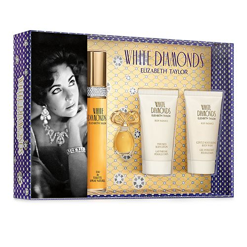 Elizabeth Taylor White Diamonds Women's Perfume 4-pc. Gift Set ($117 Value)