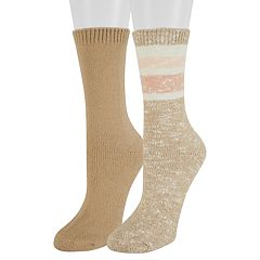 Women's SONOMA Goods for Life™ 2-Pack Marled Crew Socks
