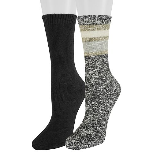 Women's SONOMA Goods for Life™ 2-Pack Marled Crew Socks