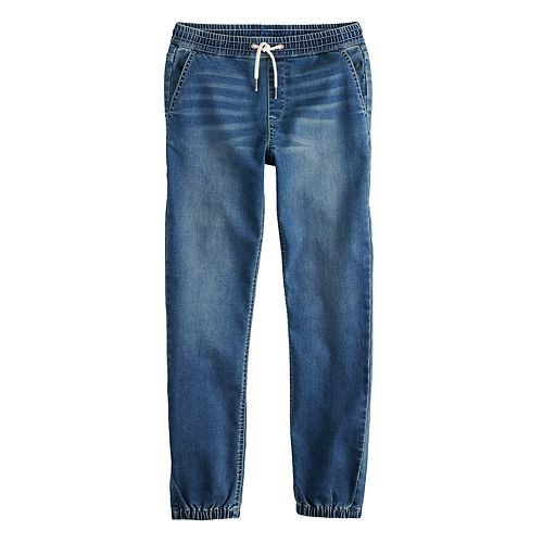 Boys 8-20 Lazer Denim Jogger Pants