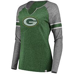Plus Size Green Bay Packers Varsity Tee